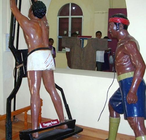 9. Flogging kalepani