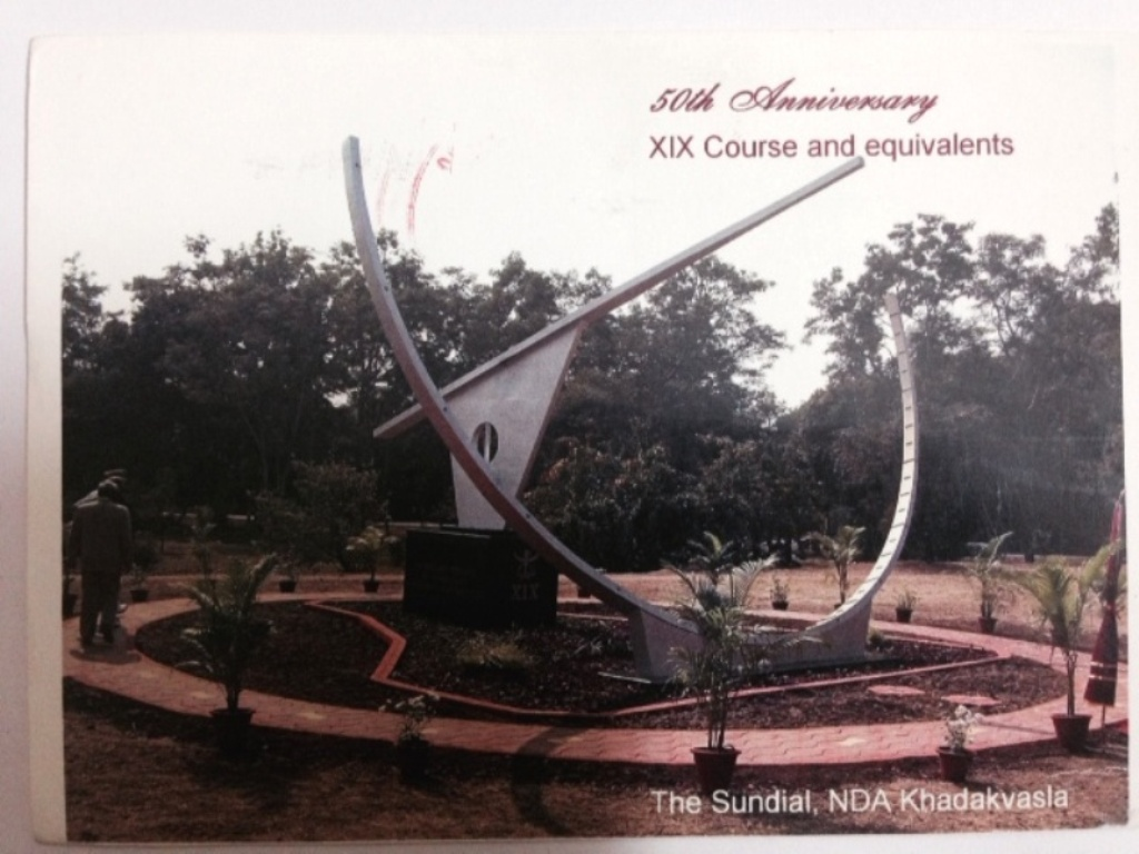 sundial at nda large