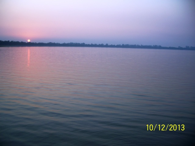 sunset on lake latest