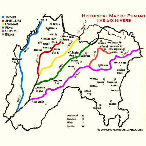 Punjab geographical