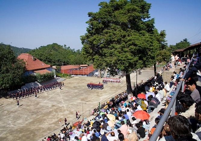The parade ground at Sanawar