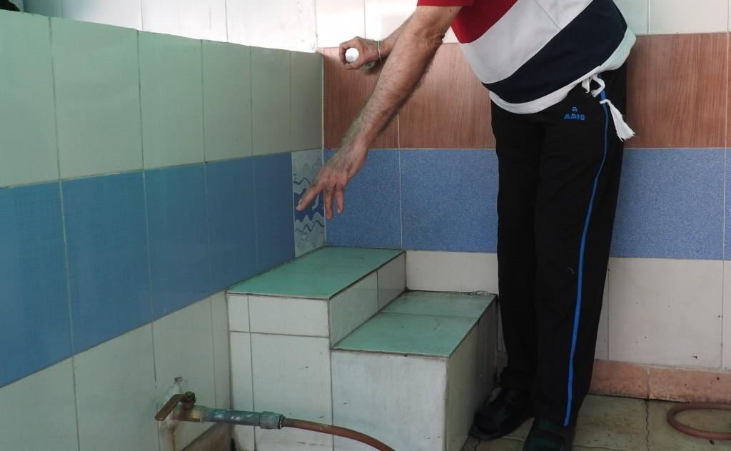 showing tap