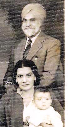 S Jagjit and wife 1953