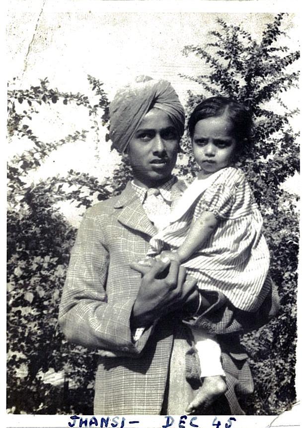 Surinder 1945 with Prem