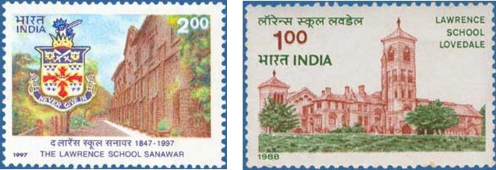 1 lawerence postage stamps