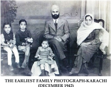 surjit family photo