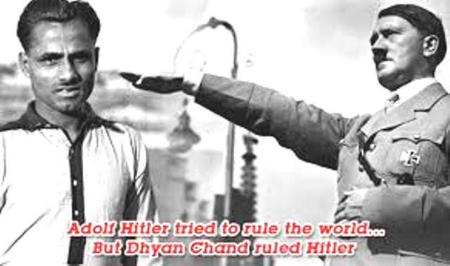hitler offer to dhyan chand